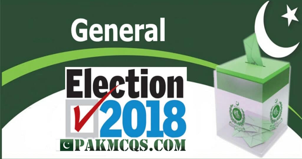Election 2018 Mcqs for Preparation