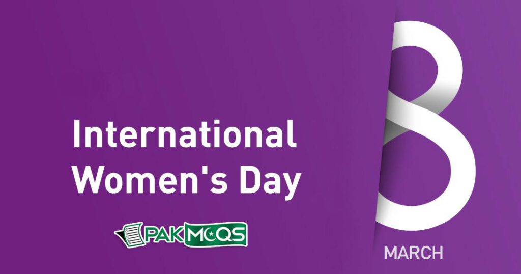 International Women's Day is celebrated each year on 8 March