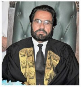 Justice Muhammad Noor Meskanzai - Chief Justice Federal Shariat Court of Pakistan