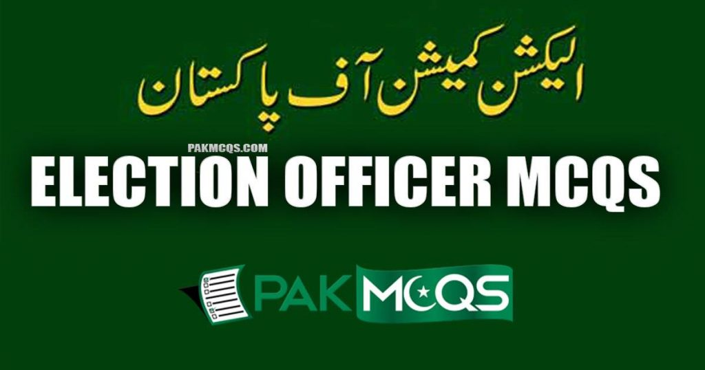 Election Officer Mcqs