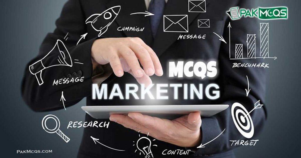 Marketing Mcqs - PAKMCQS.COM